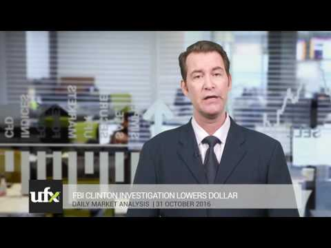 UFX Daily Forex Currency Trading News 31-October-2016