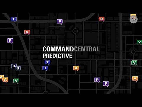 Motorola Solutions | CommandCentral Predictive