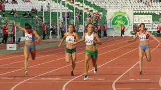 Ивет Лалова надбяга себе си на 100 м в Стара Загора