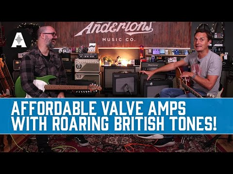 Laney Cub-Super Amplifiers - Affordable Valve Amps with Roaring British Tones!