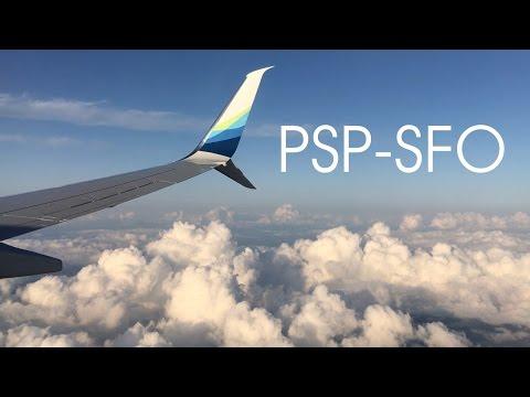 SUPER TURBULENT Alaska Airlines Palm Springs-San Francisco | Boeing 737-990ER (N260AK)