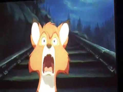 Chief's Fall with a Goofy Holler in The Fox and the Hound (1981).