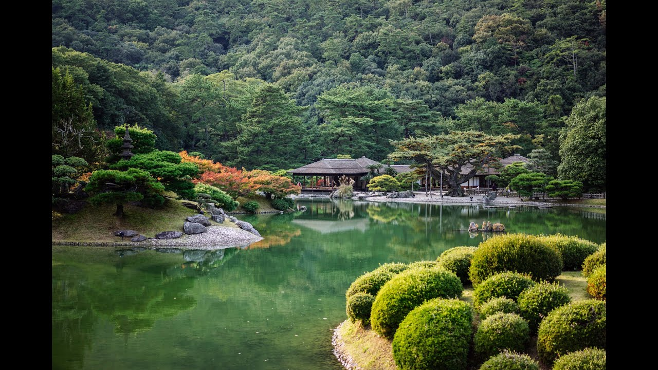 ritsurin garden takamatsu - japanese