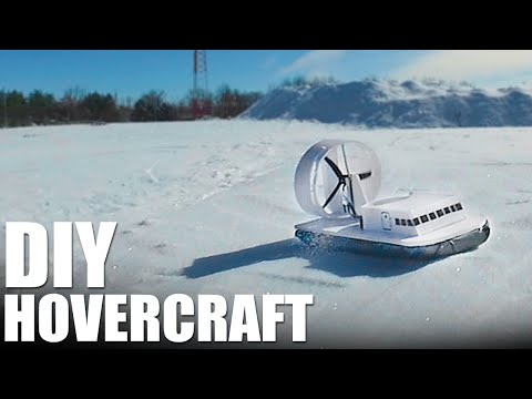 Build Your Own Adorable DIY Hovercraft to Zip Across Snowy Hills
