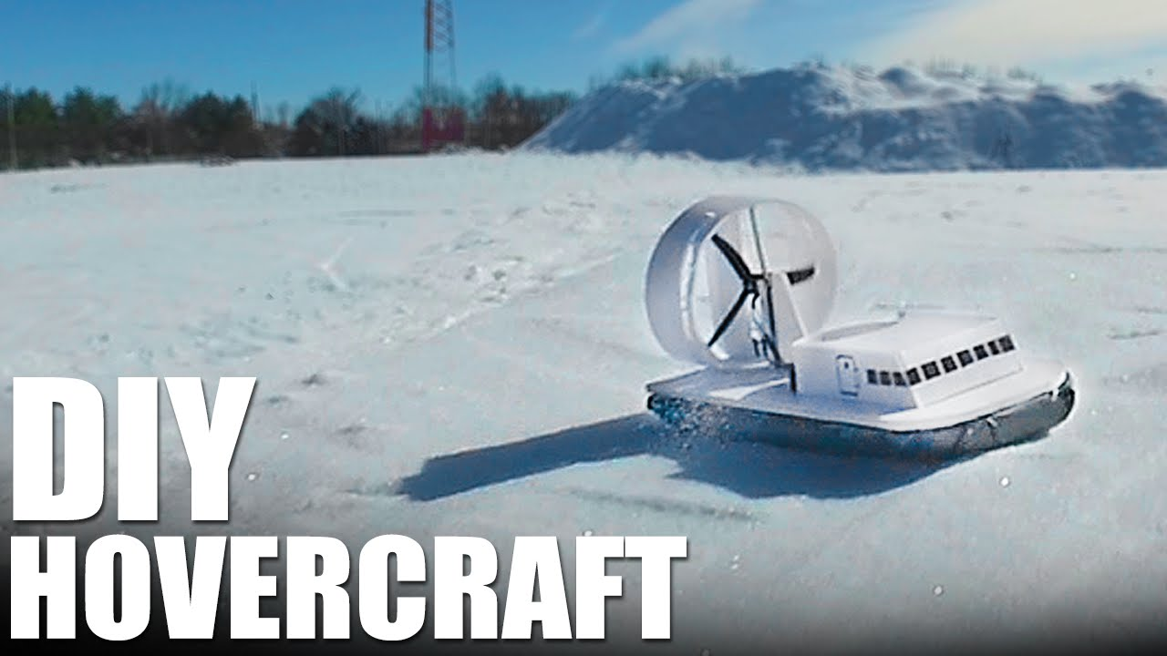 Diy hovercraft one day projects for snow flite test youtube solutioingenieria Image collections