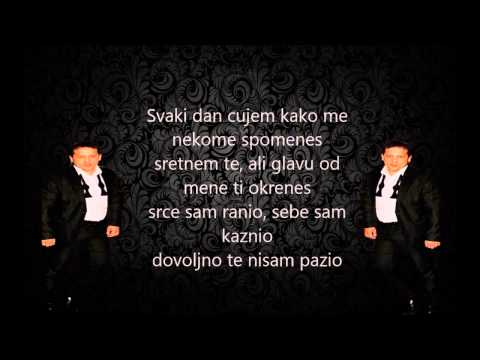 instrumental i karaoke Emir Habibovic - Zivim al nisam sam