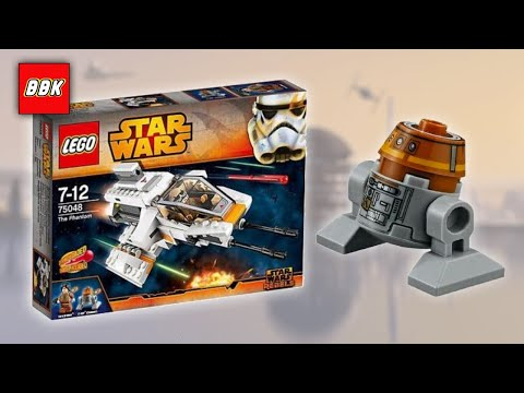 LEGO Star Wars 75048 The Phantom - Star Wars Rebels Retired Set - Lost Video