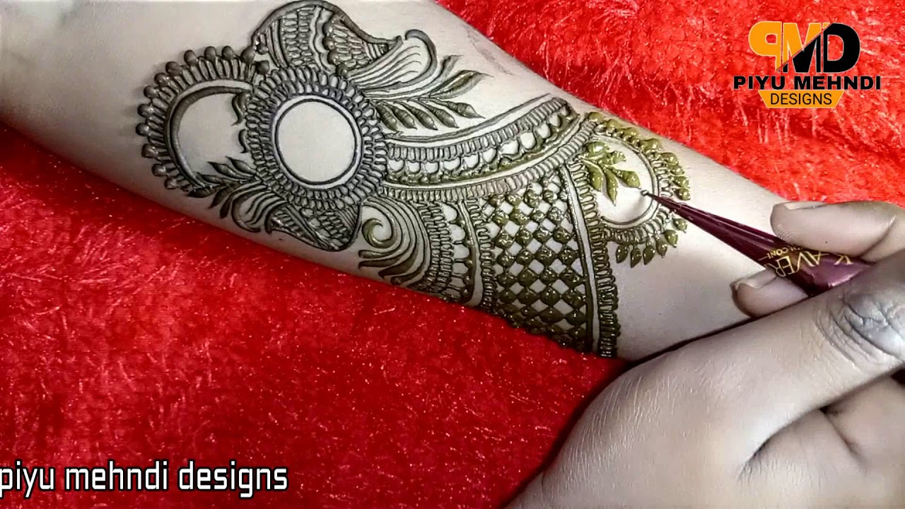 Easy Bridal Design Henna