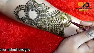 Easy Bridal Design Henna   2018 Mehndi Design For Hands   Eid  Special mehndi designs