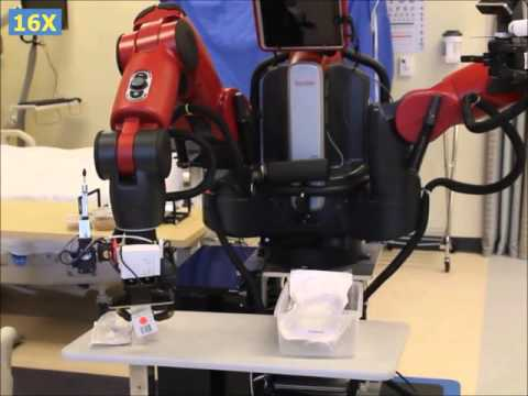 TRINA robot experiments at Duke School of Nursing