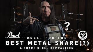 Quest For The BEST METAL SNARE (?) | A Snare Shell Comparison