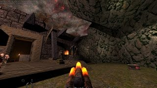 Quake 1 Mission Pack 2 : Dissolution of Eternity playthrough