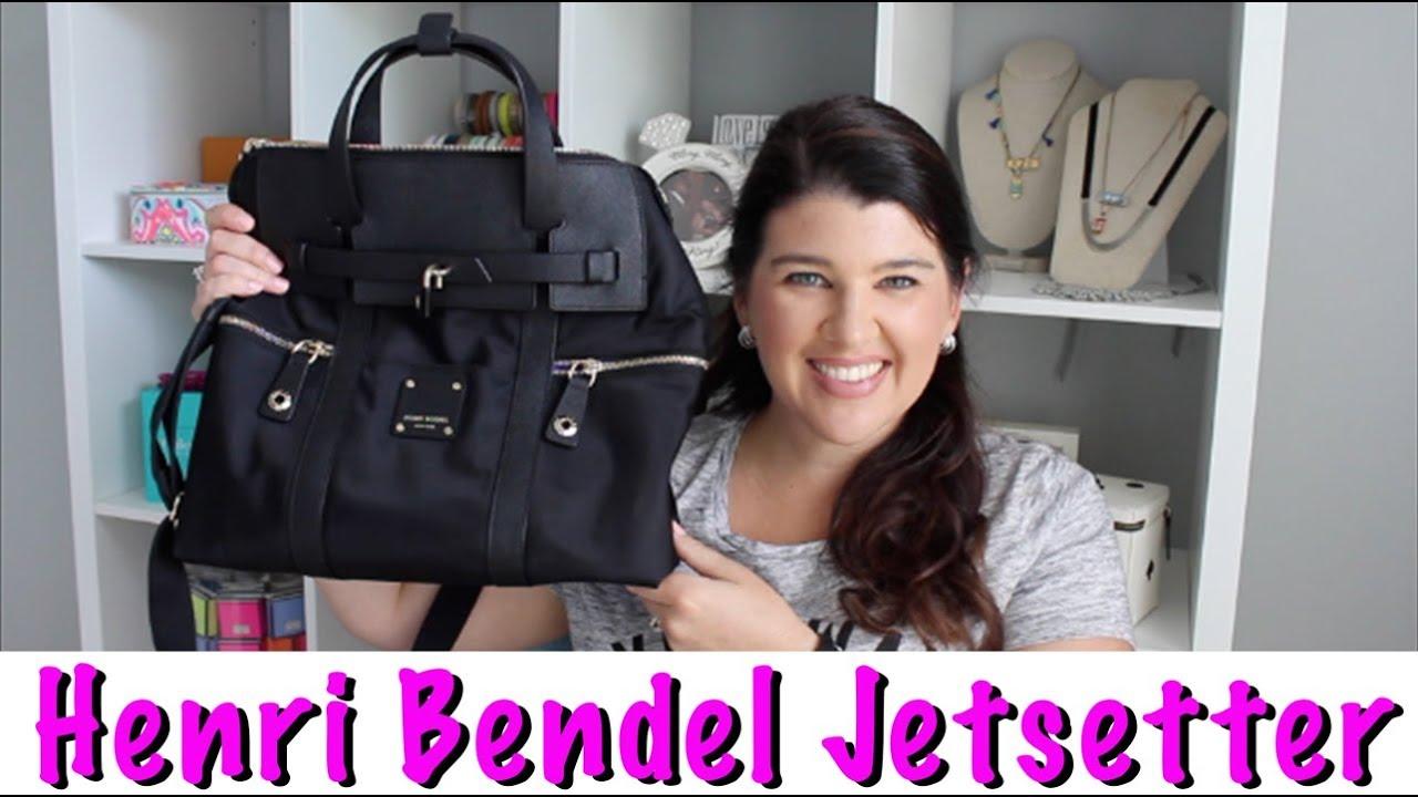 Henri Bendel Jetsetter Backpack Review