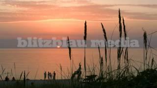 Stock Footage Europe Germany Baltic Sea Sunset Ostsee Sonnenuntergang Urlaub Rügen Usedom Darß