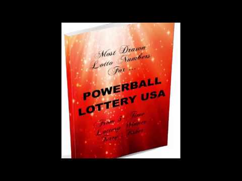 Most Drawn Powerball Numbers Book