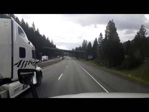Bigrigtravels Live! - Pollard Flats, CA to Central Point, OR - Interstate 5 North - Mar 20,  2017