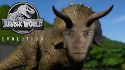 Ein Tier bricht aus😲   Jurassic World Evolution   02