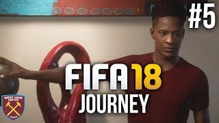 Fifa 18 the journey gameplay walkthrough part 5 - first big decision (full game)