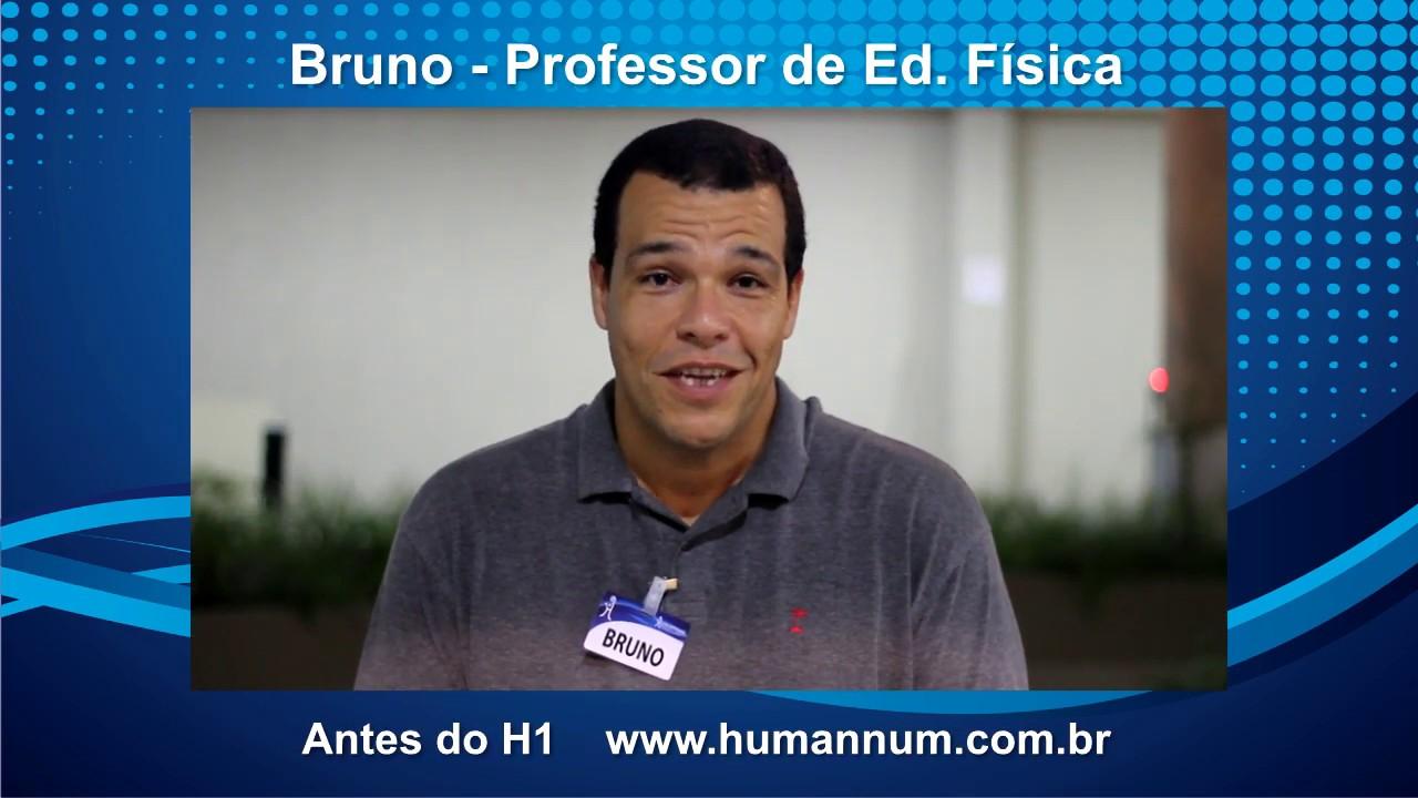 Depoimento Treinamento H1 - Bruno