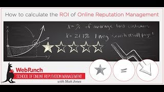 How to Calculate the ROI of Online Reputation Management