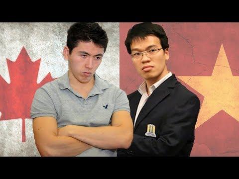 Le Quang Liem vs Eric Hansen BLITZ MARATHON