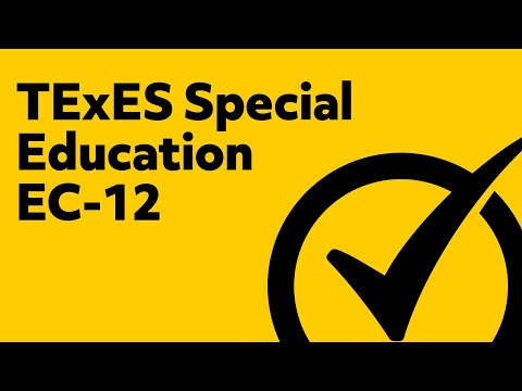 Free TExES Special Education EC 12 Practice Test 161 YouTube