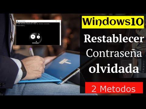 6 Pasos: Restablecer la contraseña olvidada en Windows 10 (Local & Microsoft)