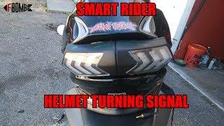 SMART RIDER HELMET TURNING SIGNAL REVIEW