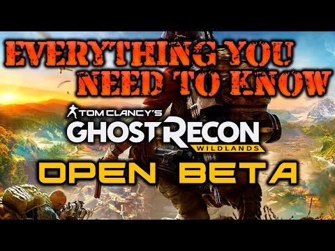 Ghost Recon Wildlands OPEN BETA!