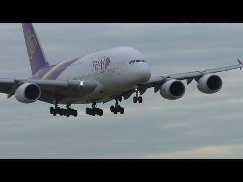 Early Morning Planespotting at London Heathrow Airport 14/08/16 - Part 1
