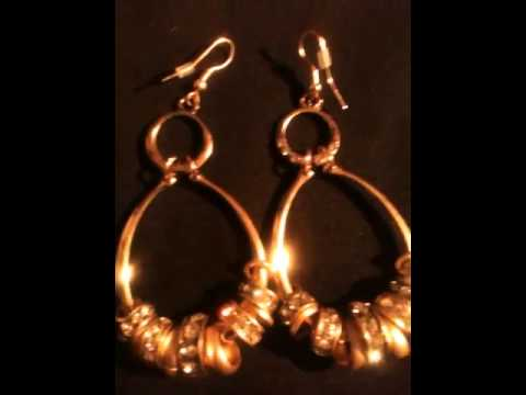 Moonlight Sonata and some earrings from the Maria Vera Jewelry Collection