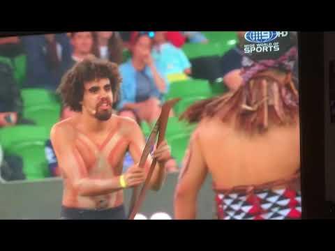 2019 Indigenous Allstars Vs Maori Allstars War Dance NRL FULL