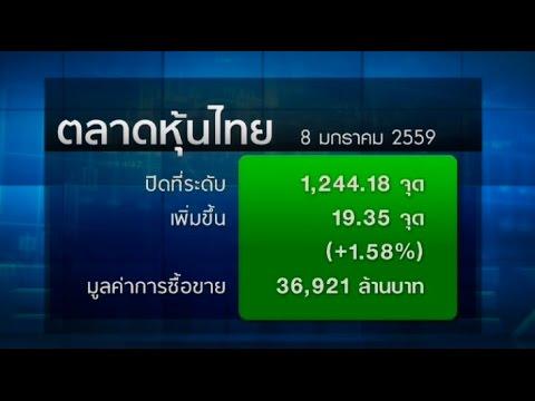 หุ้นไทยปิดพุ่ง19.35จุดตามตลาดภูมิภาค