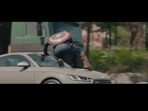 The Avengers : Age of Ultron:Deleted chase scene brought to you by AudiTT