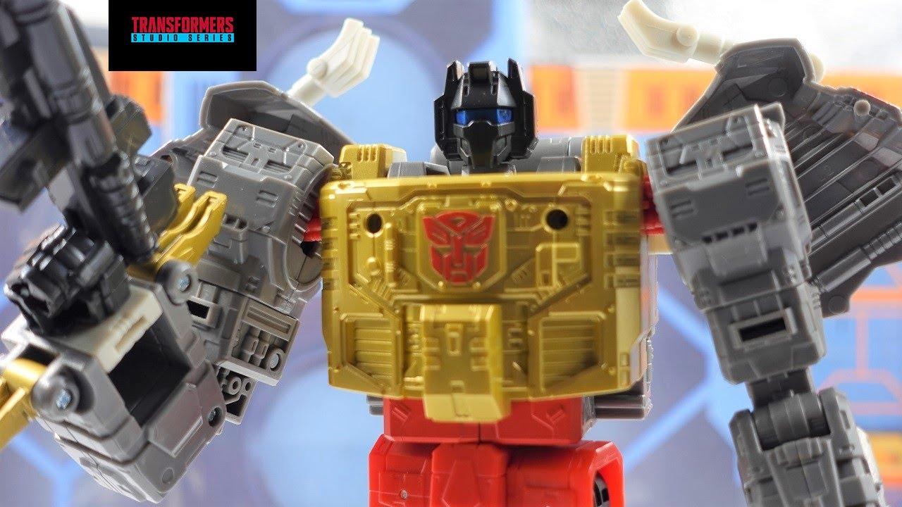 Transformers Studio Series '86 Movie Leader Grimlock -- OMG!! (4K) by bvzxa3
