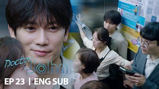 Ji Sung is Protected by Lee Se Young [Doctor John Ep 23]