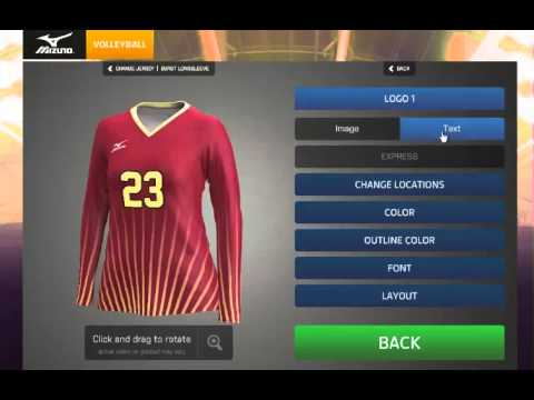 purchase cheap 3c377 0eab0 Mizuno Sublimated Jersey Design Tutorial
