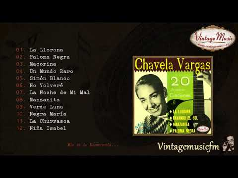 Chavela Vargas.  Colección Mexico #11 (Full Album/Álbum Completo)