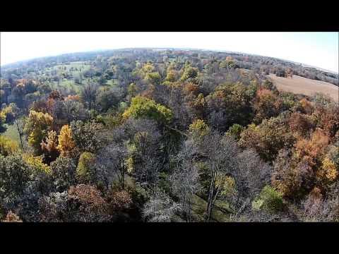 Rodeffer Farm Aerial Tour - Hancock County, IL