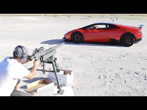20MM THROUGH A LAMBORGHINI HURACAN