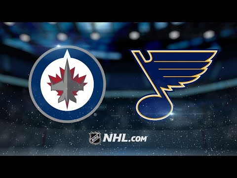 Hellebuyck, Jets shut out Blues, 4-0