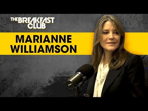 Marianne Williamson On Reparations And Conscious Candidacy In Her Run For President In 2020