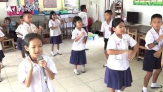 ซ้อมเต้นเพลง บ่กล้าบอกครู