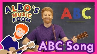 The ABC Song | Albo's Music Room Songs for Kids