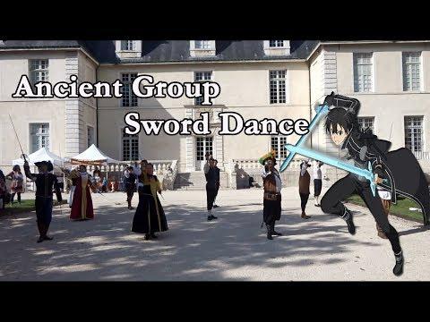 Ancient Group Sword Dance - Château de Sassenage