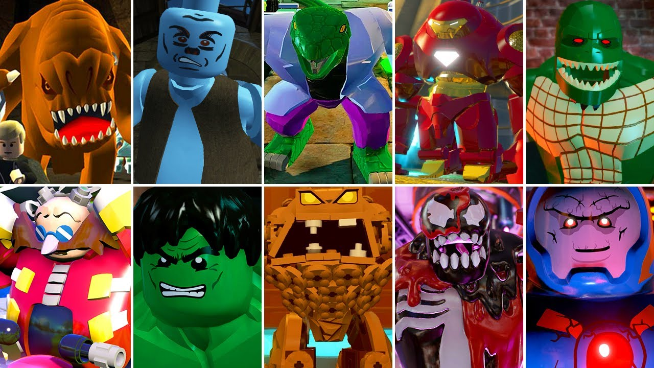 All Big-Fig Bosses in LEGO Videogames
