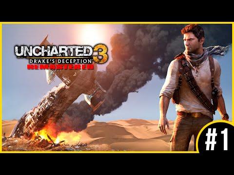 Uncharted 3: Drake's Deception #1 | O INICIO (Português/Remasterizado)