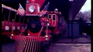 1970s film of Zooline Railroad at the Saint Louis Zoo