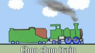 Choo choo train by Peter Weatherall