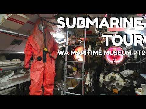TOUR OF HMAS OVENS SUBMARINE | Museums in Perth | #SSSVEDA | Perth West Australia | GoGrowGlowbern